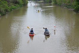 BTNEP and BLFWD Paddle Bayou Lafourche