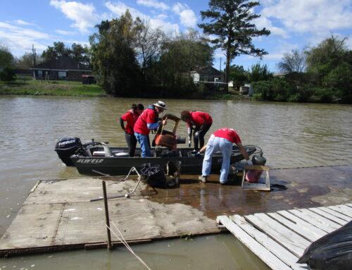 "Barataria-Terrebonne Estuary Foundation receives grant for a ""Trash Free Waters"" Campaign for Bayou Lafourche"
